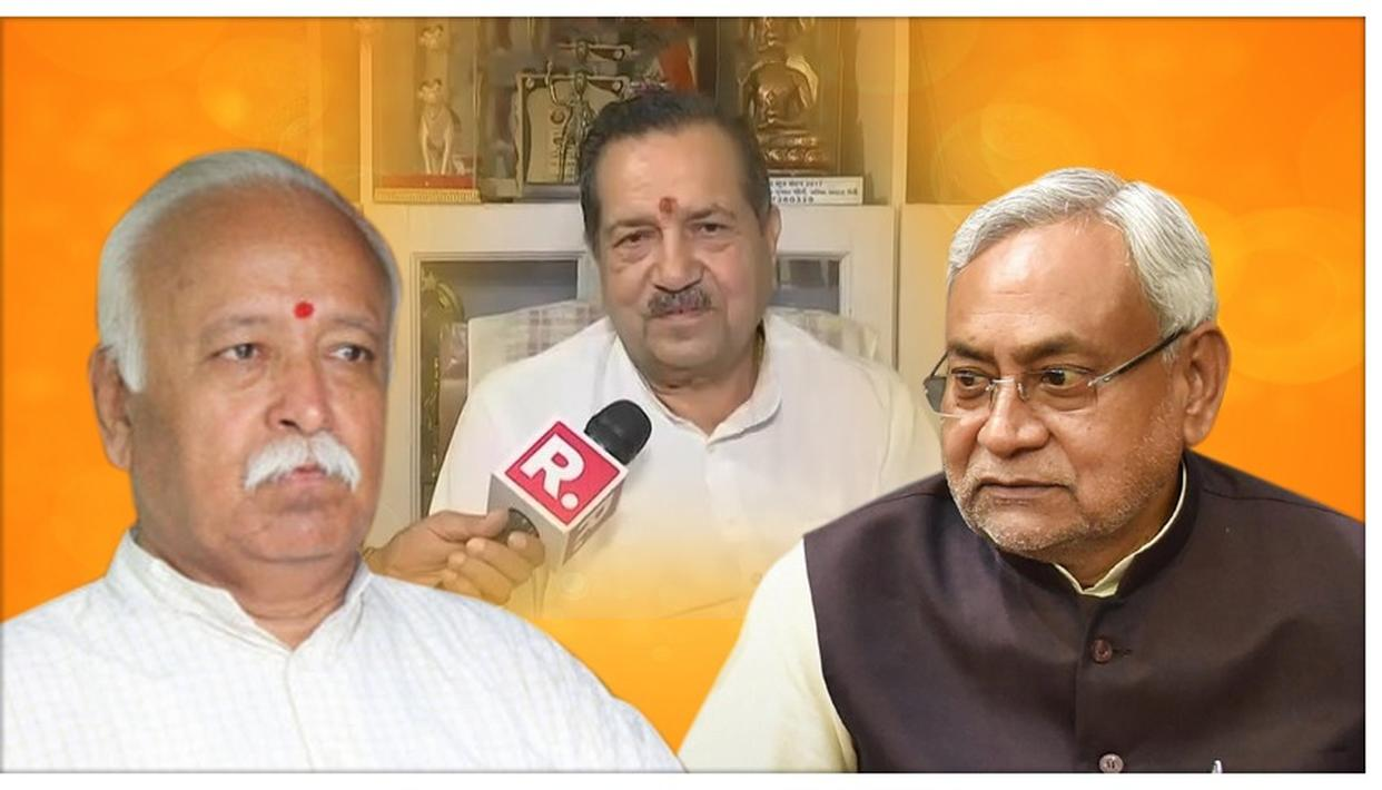 RSS HITS BACK AT NITISH KUMAR'S BIHAR GOVERNMENT'S SURVEILLANCE ORDER AGAINST IT, SAYS 'DO RESEARCH'