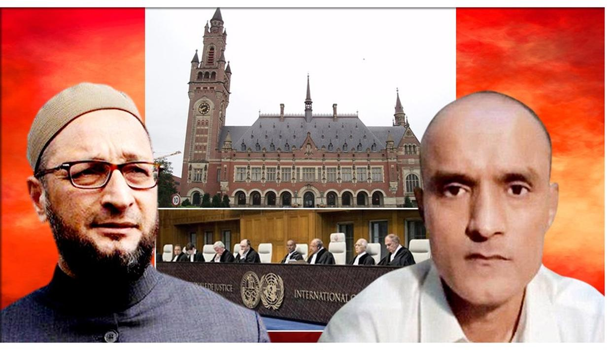 KULBHUSHAN JADHAV VERDICT | ASADUDDIN OWAISI THANKS HARISH SALVE AND TEAM FOR INDIA'S 'VERY STRONG CASE BEFORE ICJ' AS PAKISTAN GETS HAMMERED