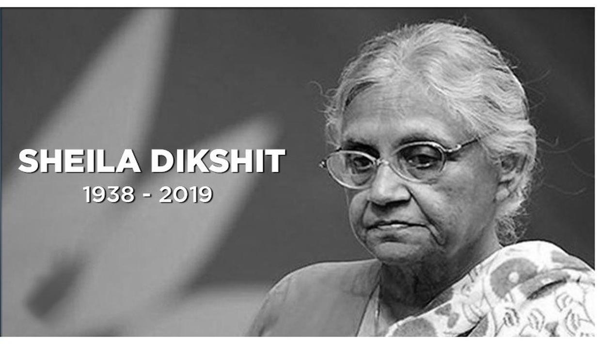 FORMER DELHI CHIEF MINISTER & CONGRESS LEADER SHEILA DIKSHIT PASSES AWAY IN DELHI AT THE AGE OF 81 YEARS