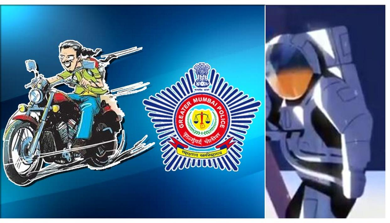 MUMBAI POLICE'S CHANDRAYAAN 2 REFERENCE TO PROMOTE IMPORTANCE OF WEARING A HELMET IS WINNING THE INTERNET