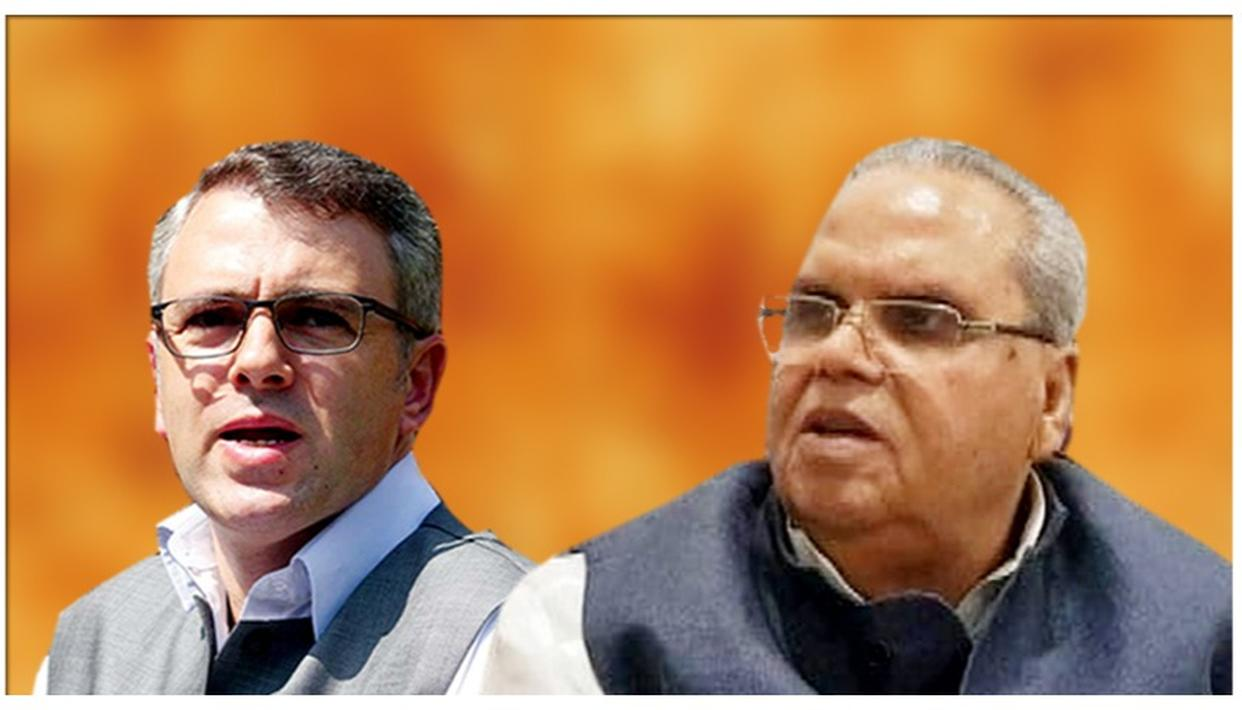 'SHOULDN'T HAVE SAID IT': J&K GUV SATYA PAL MALIK ATTRIBUTES CONTROVERSIAL TERRORISTS APPEAL TO 'ANGER & FRUSTRATION', CALLS OMAR ABDULLAH A 'JUVENILE'