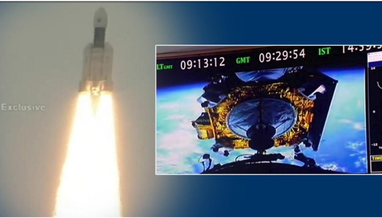 CHANDRAYAAN-2 LAUNCH: ISRO'S BAHUBALI ROCKET SUCCESSFULLY INSERTS LUNAR MISSION PROBE INTO EARTH ORBIT, HERE'S WHAT WILL HAPPEN NEXT