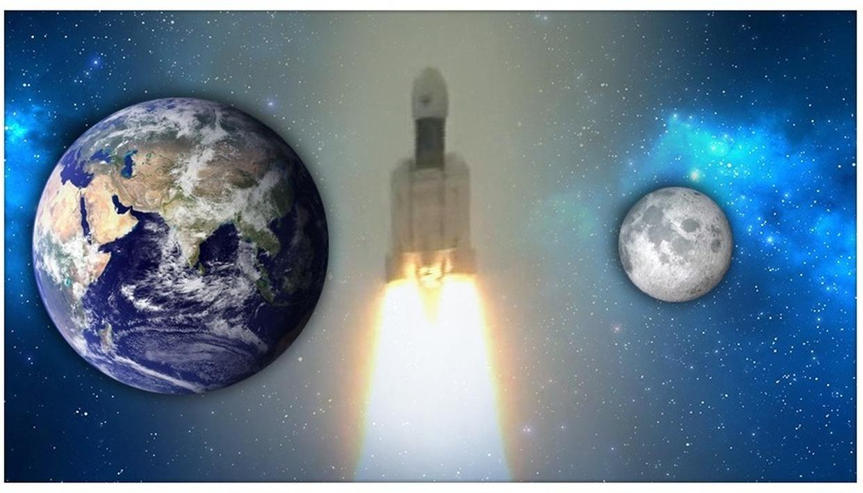 CHANDRAYAAN-2 LAUNCH: WEEK-LONG DELAY IN DEPARTURE FROM EARTH WON'T IMPACT TIME OFARRIVAL ON THE MOON. HERE'S WHY
