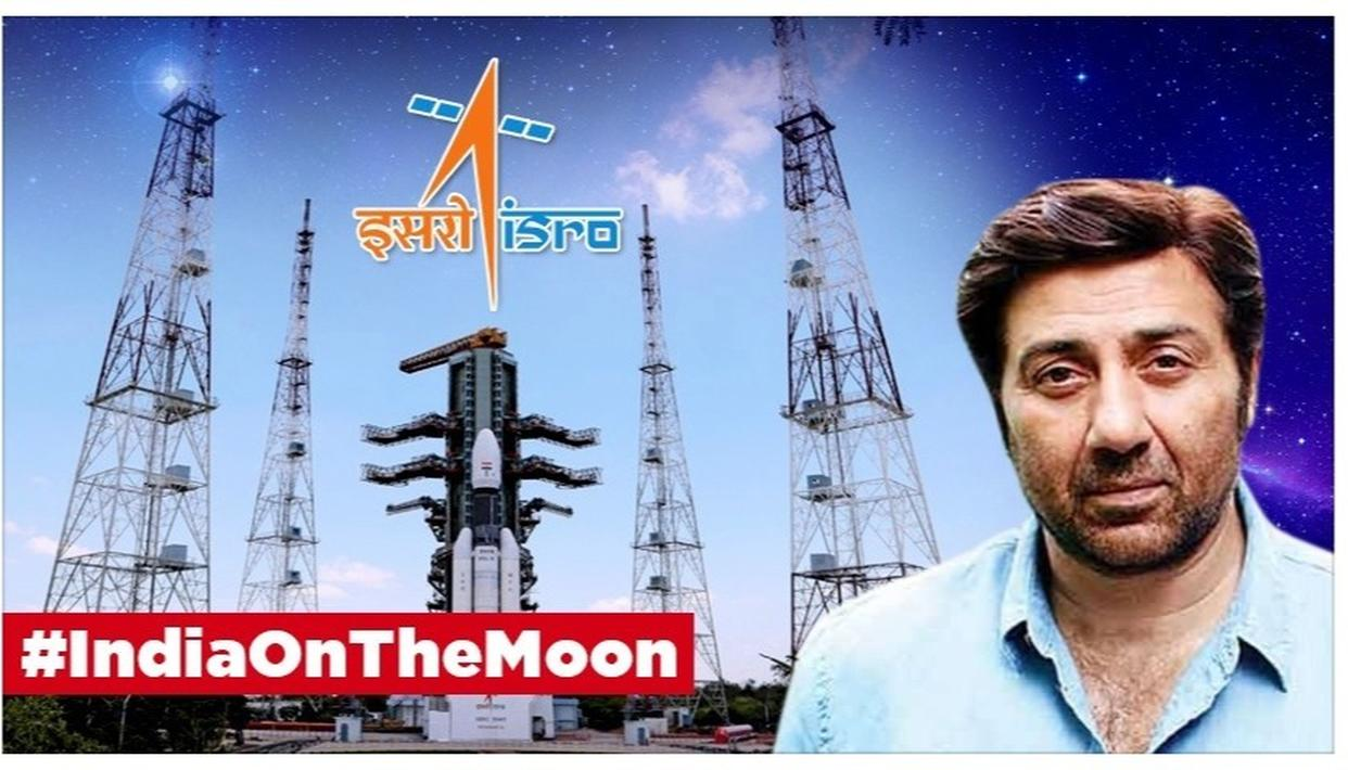 CHANDRAYAAN-2: SUNNY DEOL HAILS 'ANOTHER GIANT LEAP' AS ISRO SUCCESSFULLY LAUNCHES HISTORIC LUNAR MISSION