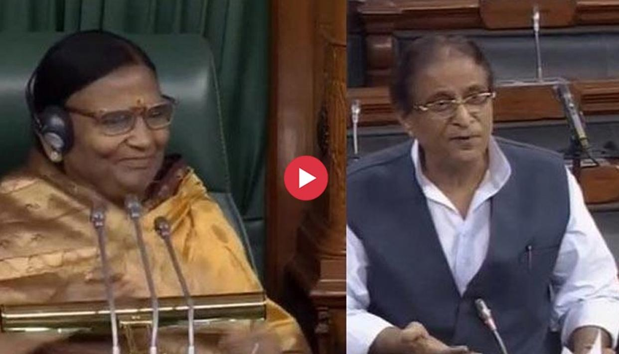 LOK SABHA CHAIR RAMA DEVI CONDEMNS AZAM KHAN'S SEXIST COMMENTS AGAINST HER, DEMANDS AN APOLOGY