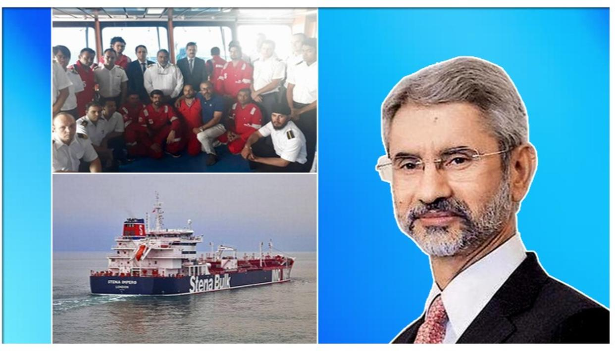 INDIAN EMBASSY RECEIVES CONSULAR ACCESS TO 18 INDIANS ONBOARD STENA IMPERO WHICH WAS DETAINED BY IRAN. DETAILS HERE
