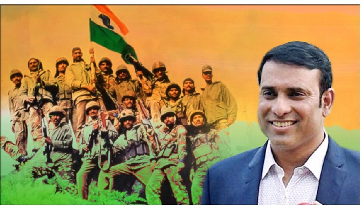 KARGIL VIJAY DIWAS | VVS LAXMAN BOWS TO THE SACRIFICE OF SOLDIERS, SALUTES MEN AND WOMEN WHO GUARD INDIA