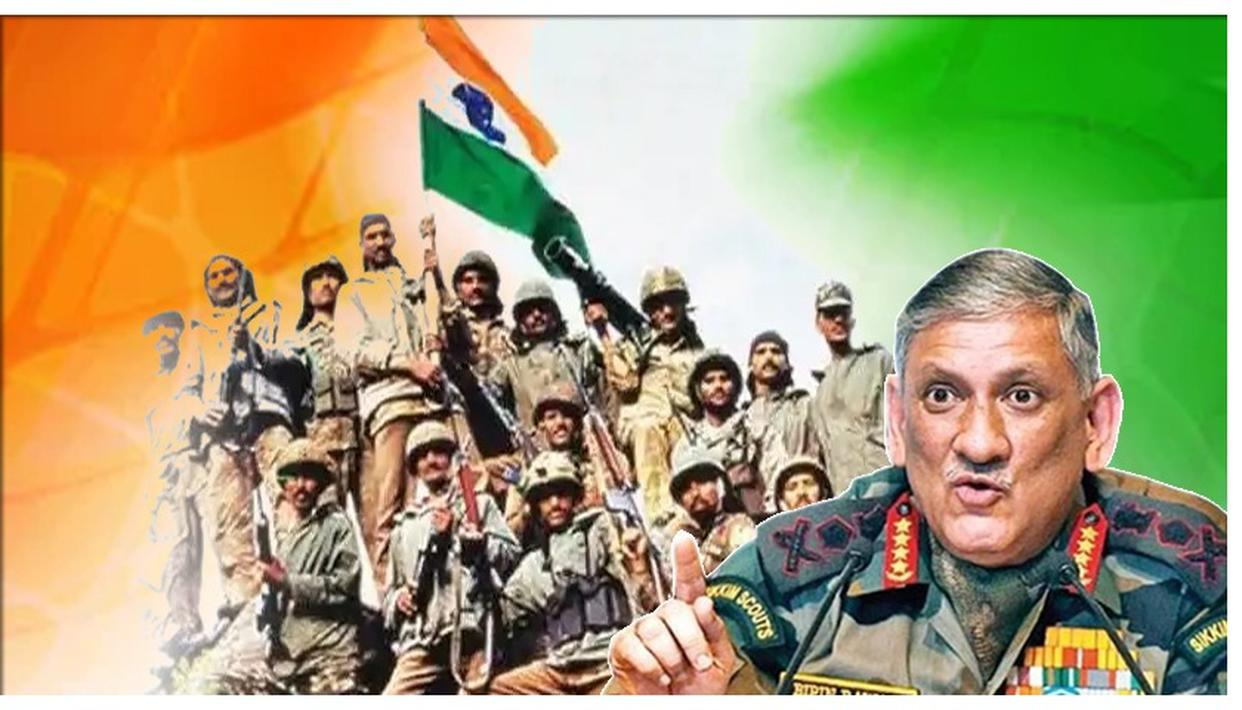 KARGIL VIJAY DIWAS | COAS GENERAL BIPIN RAWAT SAYS 'PAKISTAN TRYING EVERY METHOD TO KEEP K ISSUE ALIVE, FAILING'