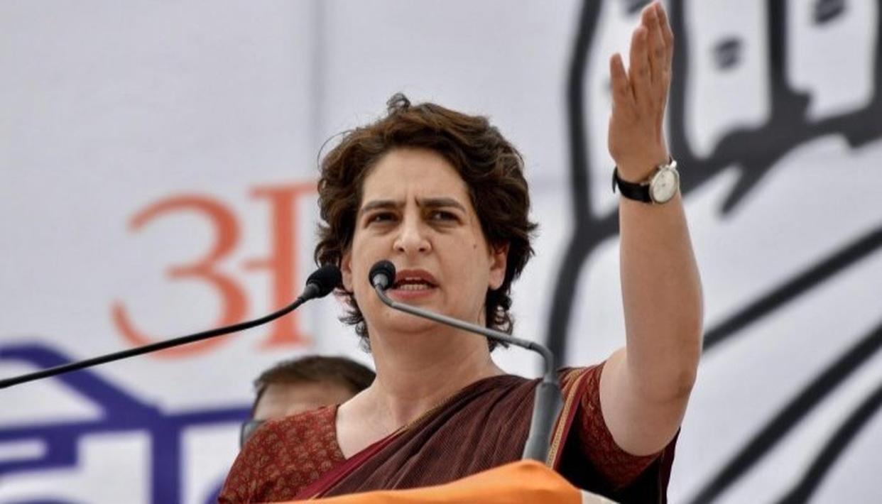 BJP GOVERNMENT'S SILENCE ON JOB LOSSES DANGEROUS: PRIYANKA