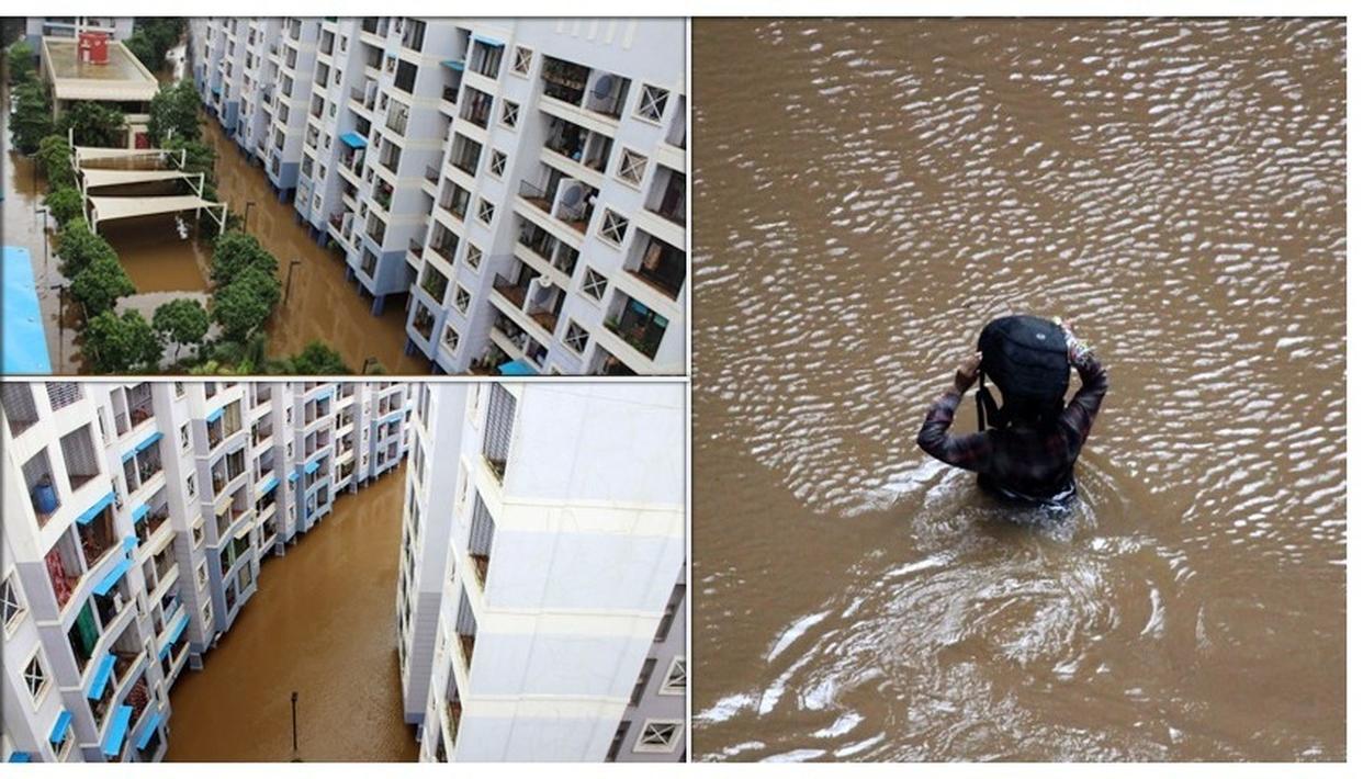 MUMBAI RAINS: NOT JUST MAHALAXMI EXPRESS, SUBMERGED BADLAPUR HOUSING COMPLEX SHOWS EXTENT OF FLOODING