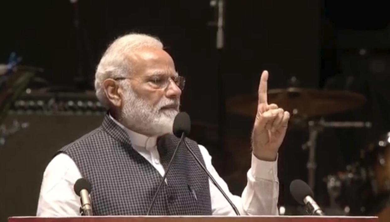 "KARGIL VIJAY DIWAS: PM MODI REMINISCES THE 1999 KARGIL WAR, SAYS ""WAR IS NOT FOUGHT BY GOVERNMENTS, BUT BY A NATION"""