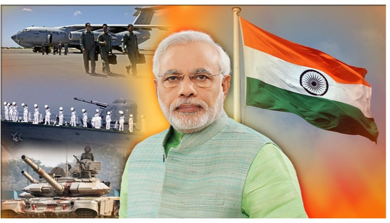 "KARGIL VIJAY DIWAS: PM MODI HIGHLIGHTS PSEUDO WARS & TERRORISM AS THE BIGGEST GLOBAL THREAT SAYING, ""TO BE EFFECTIVE, ARMY'S 3 WINGS MUST COMBINE, LIKE THE TRICOLOUR"""