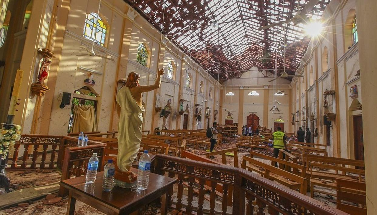 EASTER BOMBINGS IN LANKA LIKELY TO BE NIA'S FIRST CASE POST AMENDMENT OF ACT