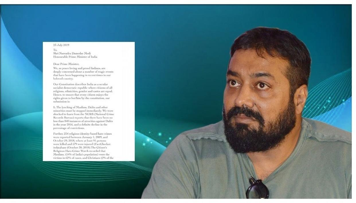 ANURAG KASHYAP HITS OUT AT 'TROLL ARMY' FOR SPREADING 'FALSE NARRATIVES' OVER INTOLERANCE LETTER