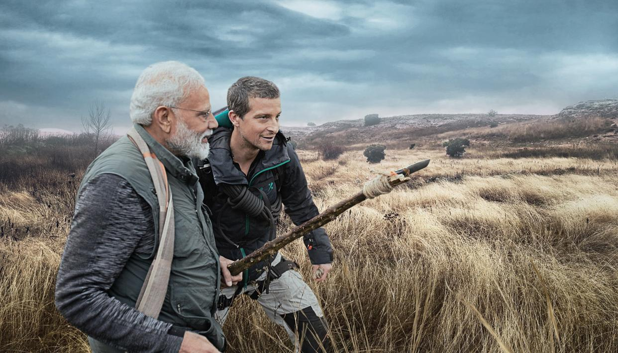 PM MODI ON 'MAN VS WILD': GREAT OPPORTUNITY TO SHOWCASE INDIA'S ENVIRONMENTAL HERITAGE, CONSERVATION