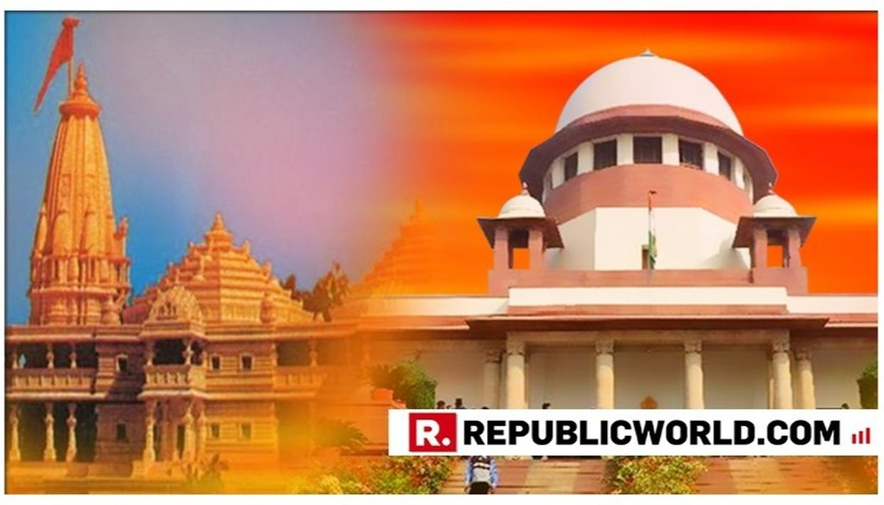 AYODHYA CASE: 3-MEMBER MEDIATION PANEL SUBMITS REPORT TO SUPREME COURT, HEARING AT FRIDAY 2PM