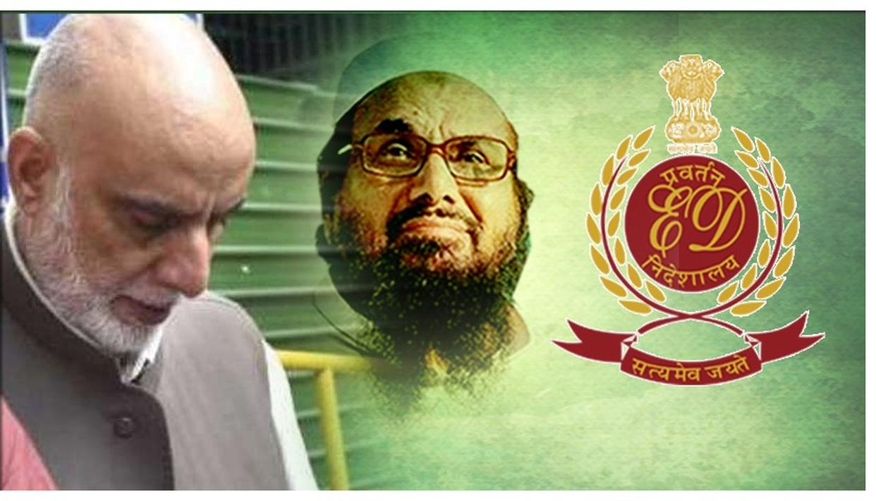 ED ATTACHES ZAHOOR WATALI'S PROPERTIES WORTH 1.73 CRORE IN TERROR-FUNDING CASE, ALLEGEDLY LINKED TO HAFEEZ SAEED