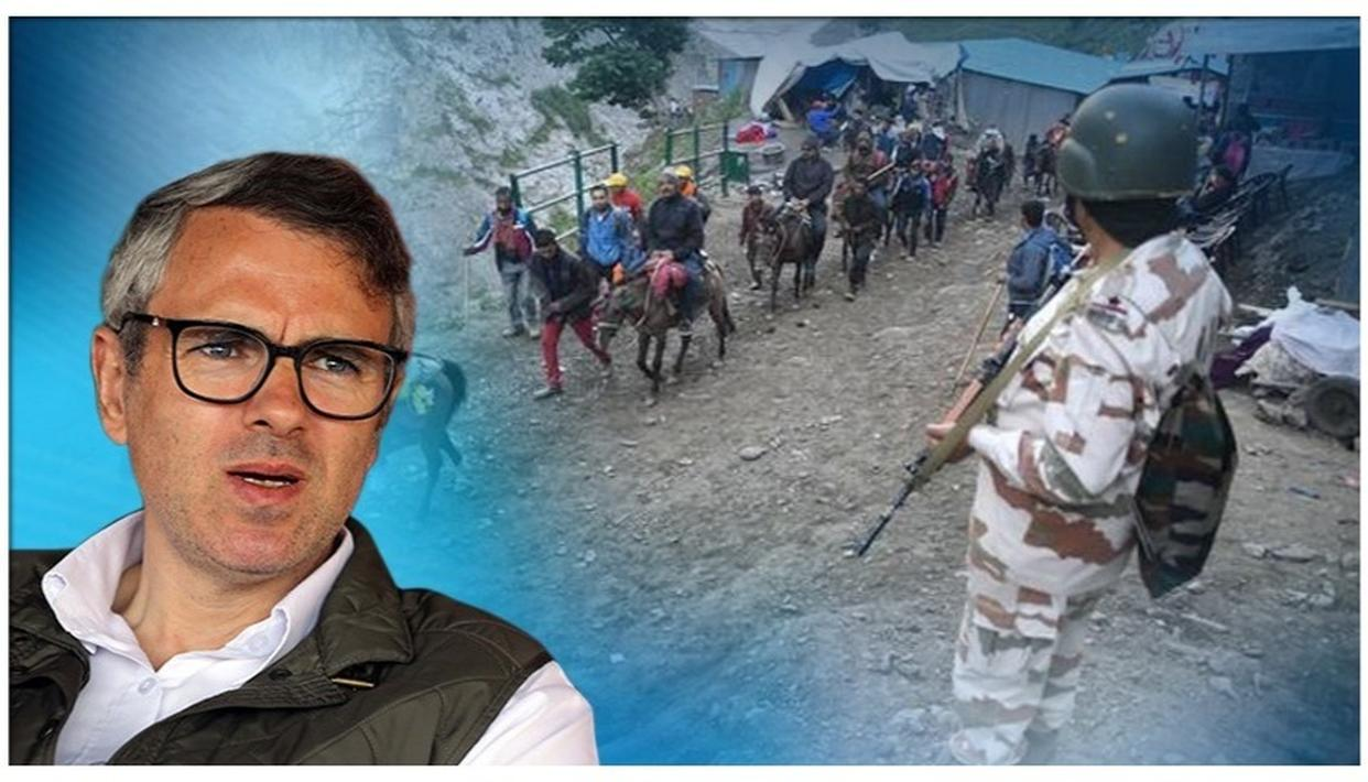 OMAR ABDULLAH ON 'UNPRECEDENTED' CALL FOR AMARNATH YATRIS' RETURN