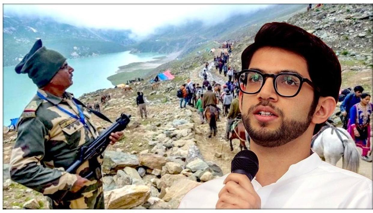AADITYA THACKERAY ANGERED AT AMARNATH YATRA'S CURTAILMENT, SAYS 'I'M SURE WE HAVE STRENGTH TO PURGE TERRORISTS'