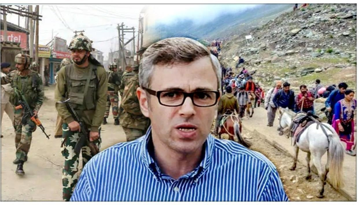 J&K: OMAR ABDULLAH WORRIES ABOUT 'TOURISM INDUSTRY' SETBACK IN THE STATE AMID SECURITY ADVISORY ISSUED BY GOVT