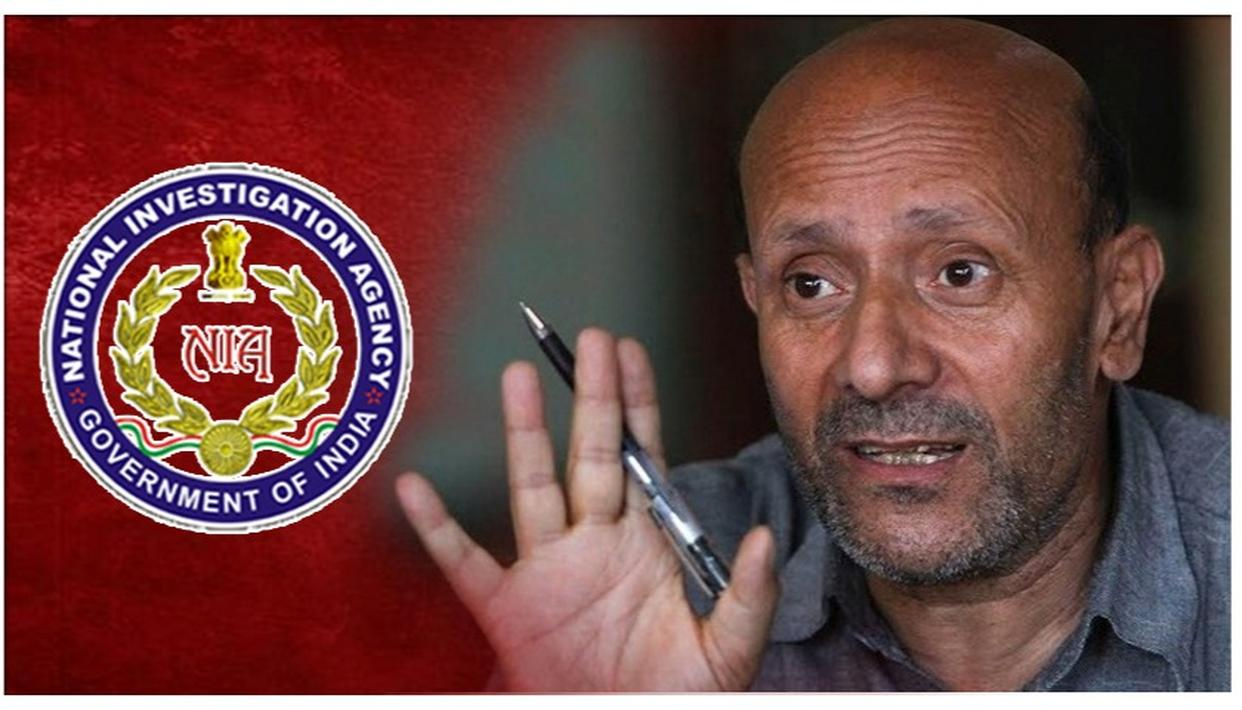 J&K MLA ER. RASHID QUESTIONED BY NIA FOR THE SECOND TIME IN A TERROR FUNDING CASE. DETAILS HERE