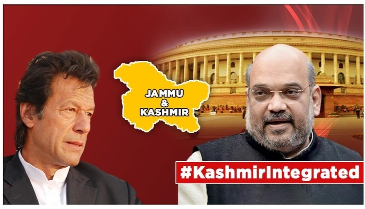 J&K'S ARTICLE 370 TO GO: PANICKY PAKISTAN ISSUES DESPERATE STATEMENT, THINKS IT HAS A SAY