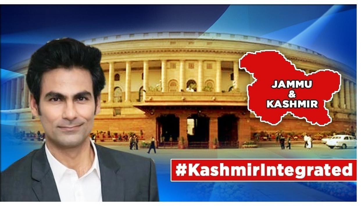 J&K'S ARTICLE 370 TO GO, HERE'S WHAT MOHAMMAD KAIF HOPES IT BRINGS TO INDIA