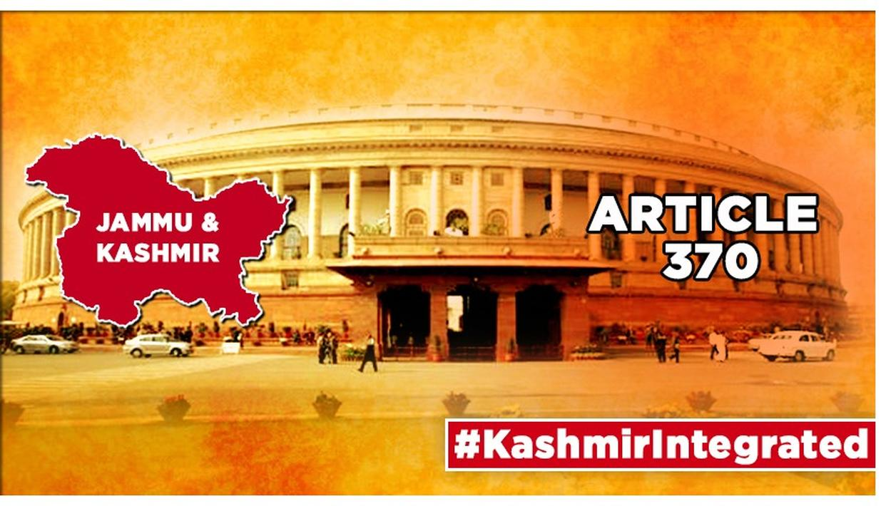 J&K'S ARTICLE 370 SCRAPPED: NO SEPARATE CONSTITUTION, FLAG FOR JAMMU AND KASHMIR; ASSEMBLY TO BE OF 5 YRS