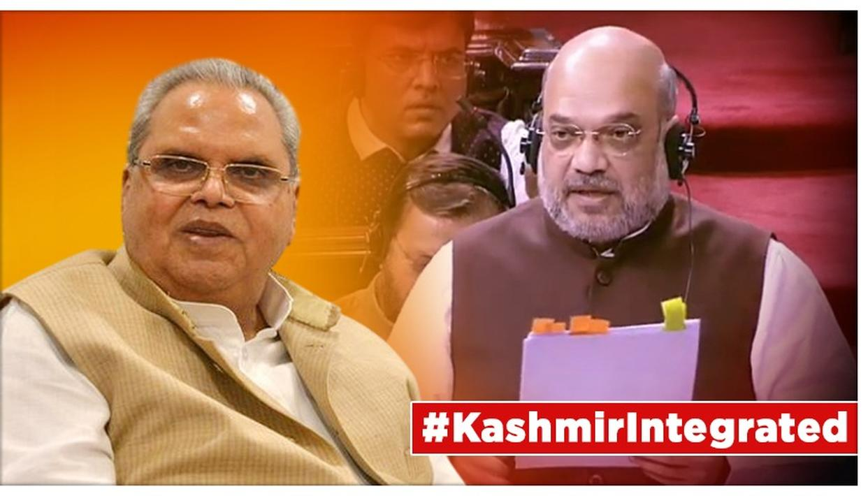 J&K'S ARTICLE 370 SCRAPPED: GOVERNOR SATYA PAL MALIK HOLDS LATE NIGHT MEETING TO REVIEW SECURITY, LAW & ORDER