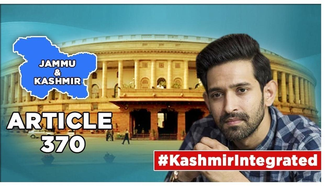 J&K'S ARTICLE 370 SCRAPPED: 'CHHAPAAK' STAR VIKRANT MASSEY WHO'S BEEN 'ANTI-BJP ALL HIS LIFE', SUPPORTS MODI GOVT