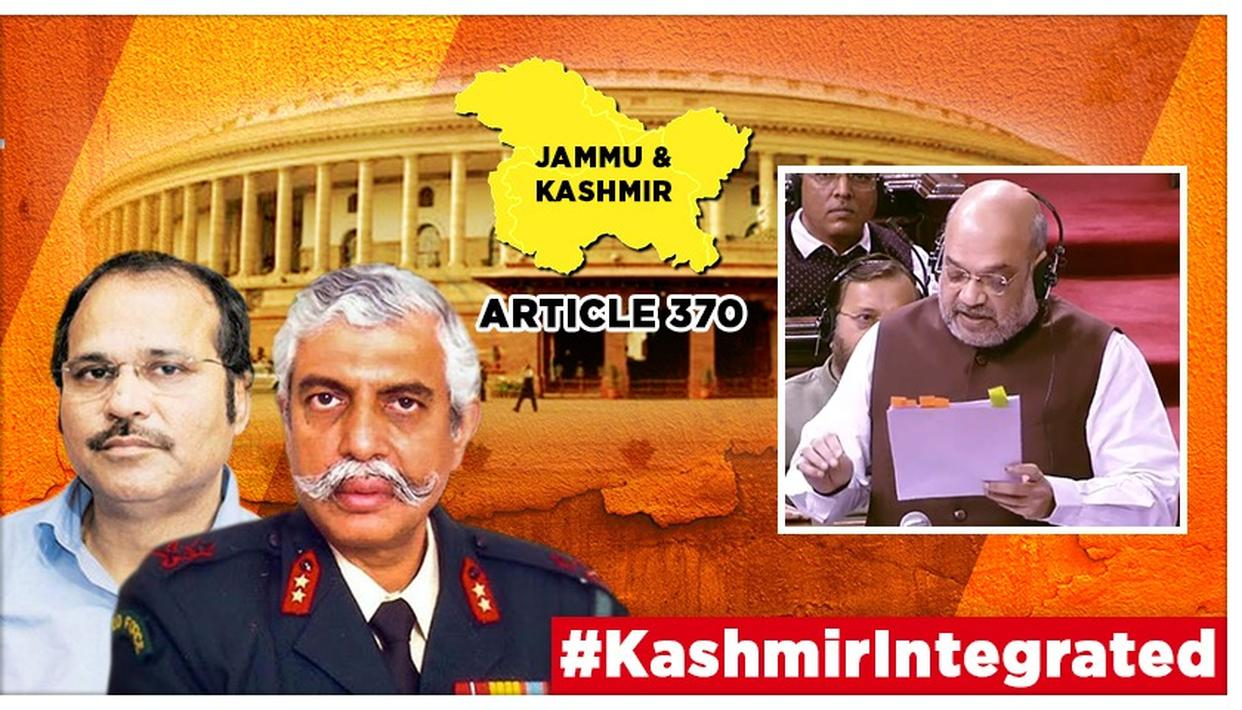 J&K'S ARTICLE 370 SCRAPPED: 'NO QUESTION OF UN INTERVENTION' SAYS GENERAL GD BAKSHI AFTER CONGRESS OPPOSES RESOLUTION