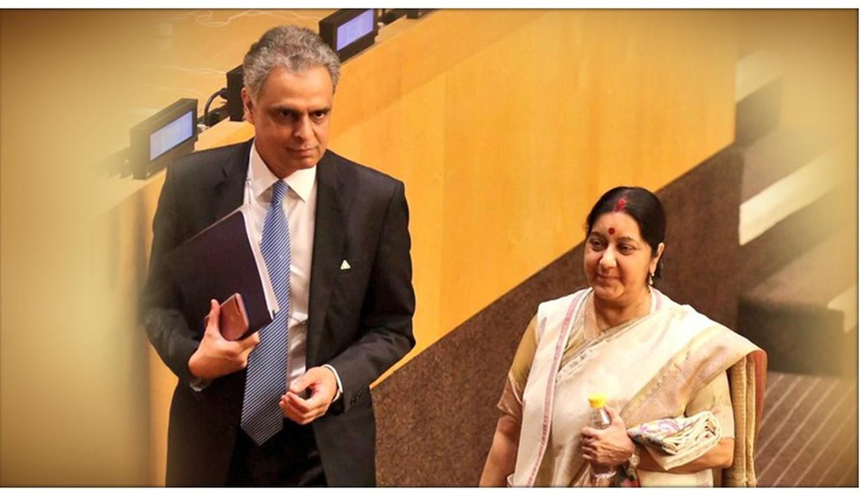 SUSHMA SWARAJ PASSES AWAY: SYED AKBARUDDIN PAID HIS TRIBUTE BY SHARING HER MEMORABLE MOMENTS AT THE UN. WATCH HERE