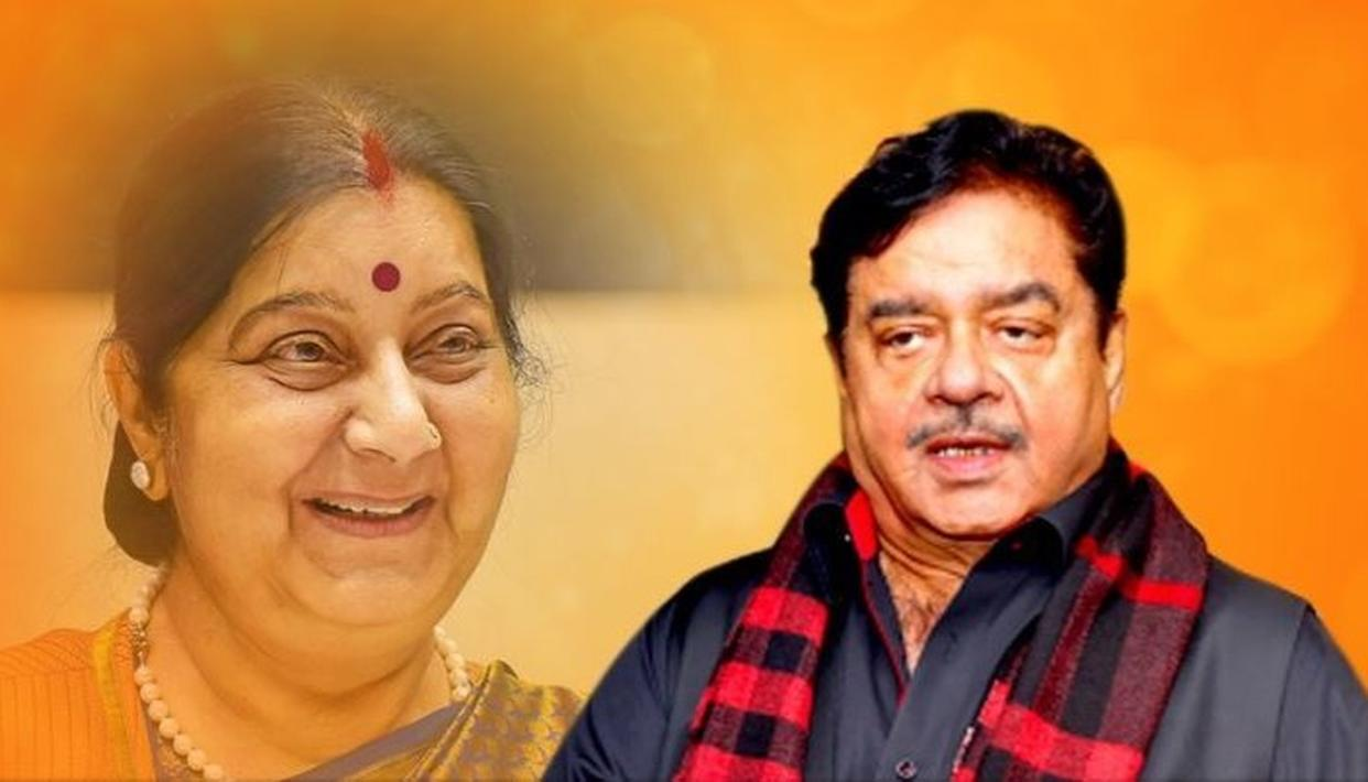 SUSHMA SWARAJ PASSES AWAY: SHATRUGHAN SINHA CALLS IT AN IRREPLACEABLE LOSS, REMEMBERS HER COMMITMENT TOWARDS THE BJP