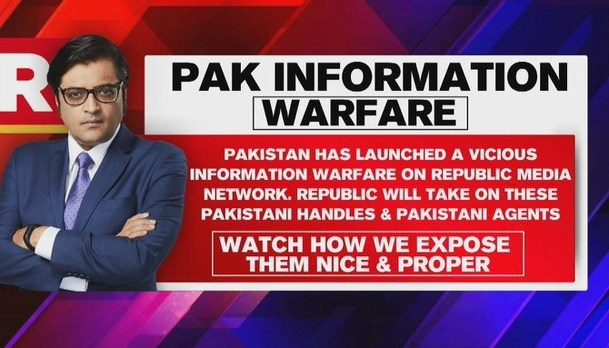 ISI-BACKED PAKISTAN CYBER ARMY LAUNCHES FAKE-NEWS WAR AGAINST REPUBLIC, WATCH THEM GET EXPOSED