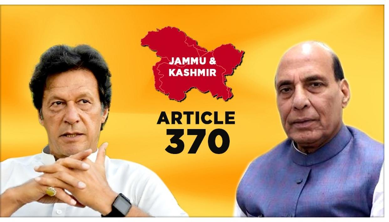 "J&K'S ARTICLE 370 SCRAPPED: ""GOD FORBID ANYONE GETTING A NEIGHBOUR LIKE PAKISTAN,"" SAYS RAJNATH SINGH"