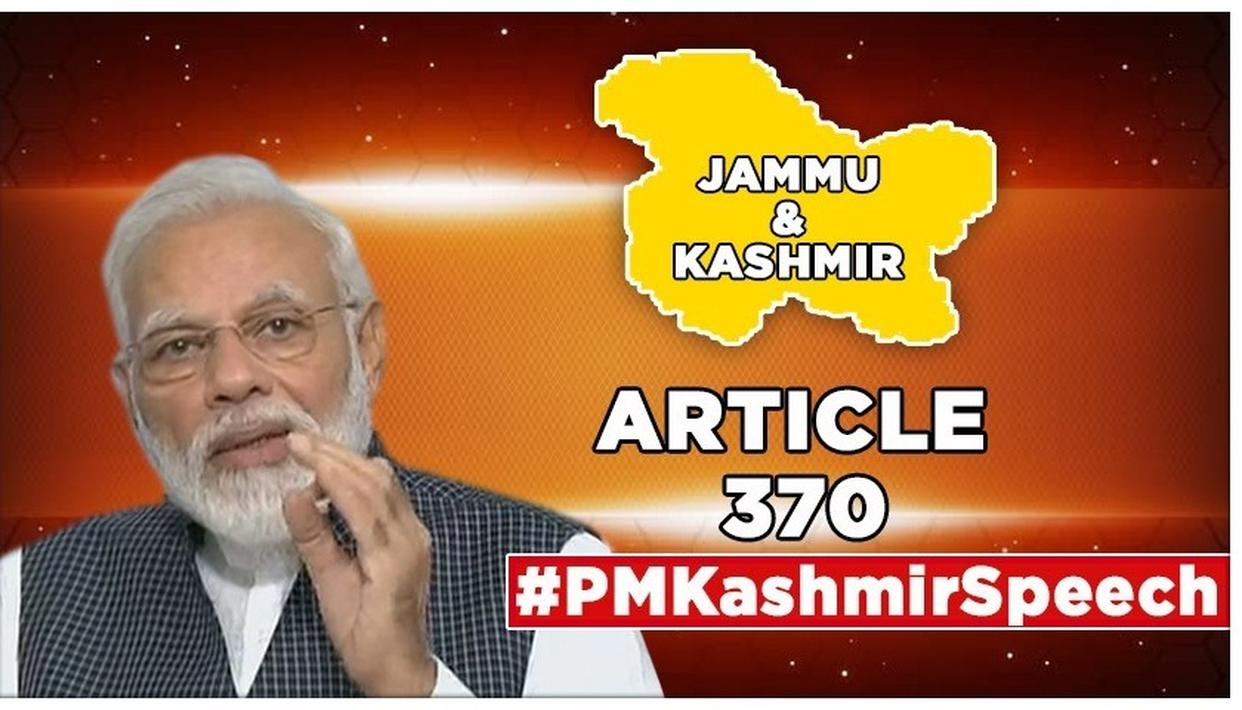 "PM MODI TEARS INTO ARTICLES 370 & 35A, SAYS ""J&K WAS LEAST BENEFITED, ONLY PAKISTAN AND ITS AGENTS WERE"""