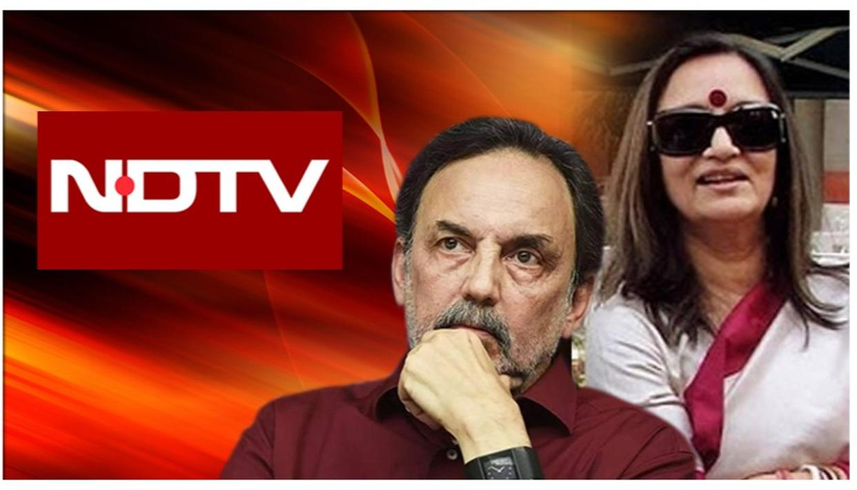 NDTV FOUNDERS PRANNOY ROY & RADHIKA ROY ALLEGEDLY STOPPED FROM LEAVING INDIA: A CHRONOLOGY OF PRECEDING EVENTS