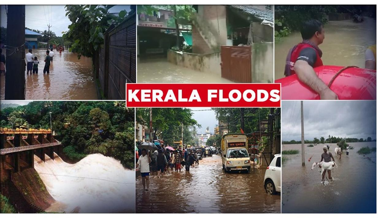KERALA FLOODS: 1 LAKH PEOPLE IN ALMOST A THOUSAND RELIEF CAMPS, LANDSLIDES CLAIM MULTIPLE LIVES