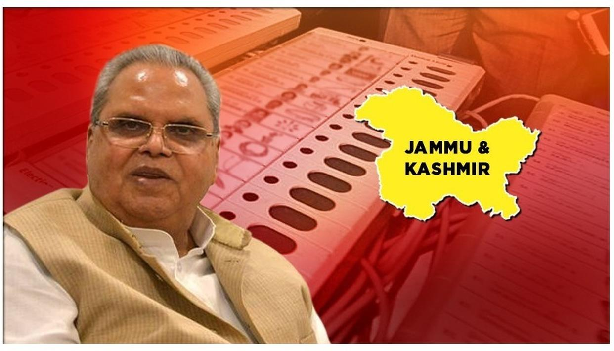 J&K GOVERNOR ASKS CEO TO EXPEDITE PROCESS FOR ELECTIONS TO BLOCK DEVELOPMENT COUNCILS