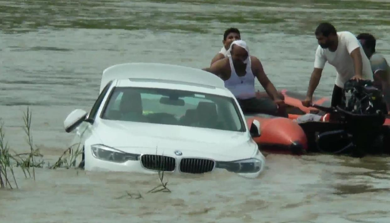 UPSET HARYANA MAN SINKS BMW IN RIVER AS FATHER REFUSES TO BUY A JAGUAR