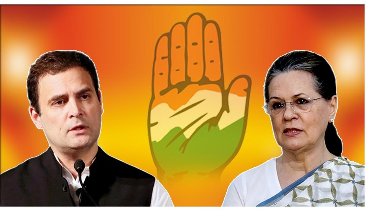 CONGRESS WORKING COMMITTEE PRAISES RAHUL GANDHI'S 'EXCEPTIONAL LEADERSHIP', APPOINTS SONIA GANDHI AS PARTY CHIEF