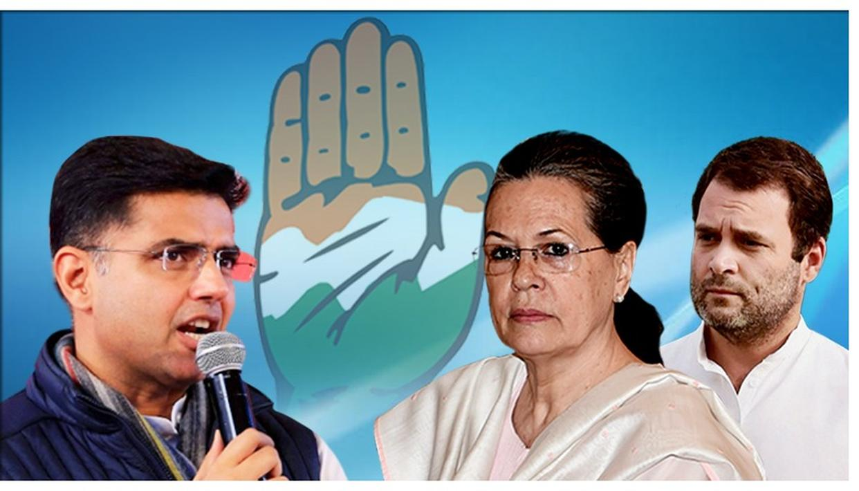 CONGRESS APPOINTS SONIA GANDHI AS 'NEW' PARTY CHIEF, SACHIN PILOT TIGHT-LIPPED OVER PARTY'S DECISION