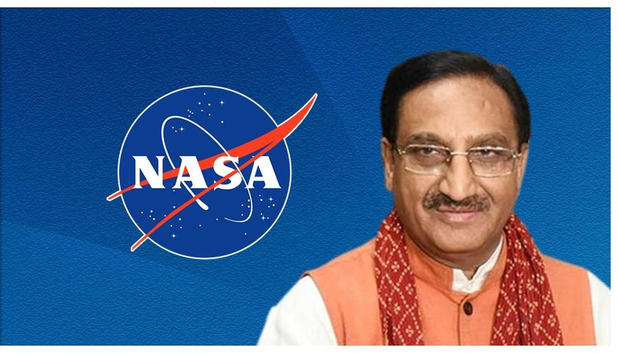 HRD MINISTER RAMESH POKHRIYAL CLAIMS NASA SAID SPEAKING COMPUTERS WILL BE REALITY DUE TO SANSKRIT