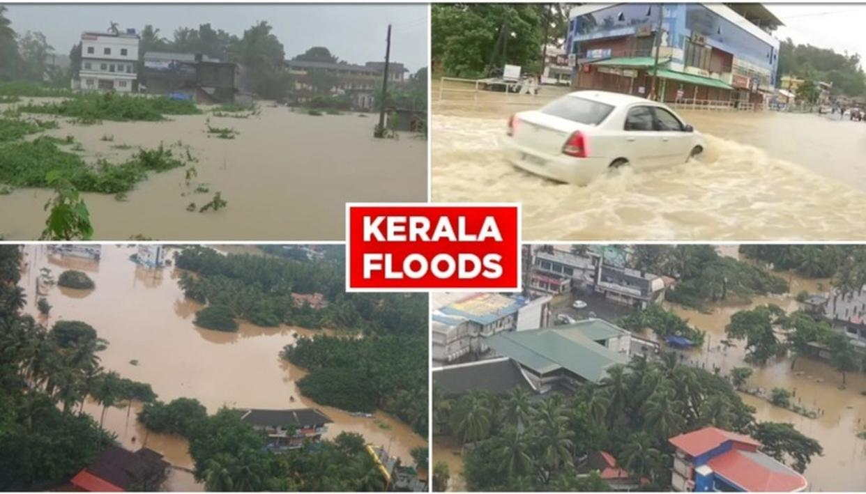 TOLL CLIMBS TO 67 IN KERALA RAIN MAYHEM, OVER 2.27 LAKH PEOPLE DISPLACED