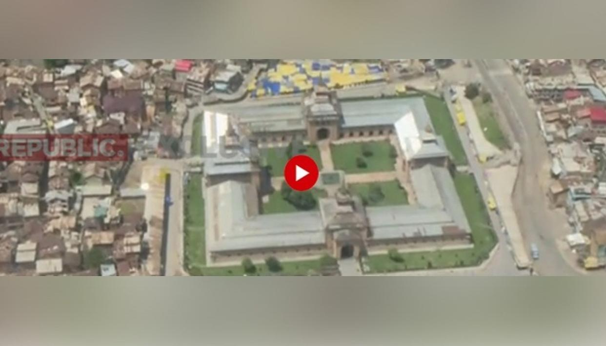 WATCH: AS J&K CELEBRATES EID, REPUBLIC'S EXCLUSIVE AERIAL REPORT FROM SRINAGAR