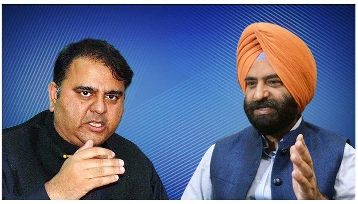 MANJINDER SINGH SIRSA BLASTS PAKISTAN MINISTER FAWAD HUSSAIN FOR PATHETIC COMMUNAL PITCH TO INDIAN FORCES