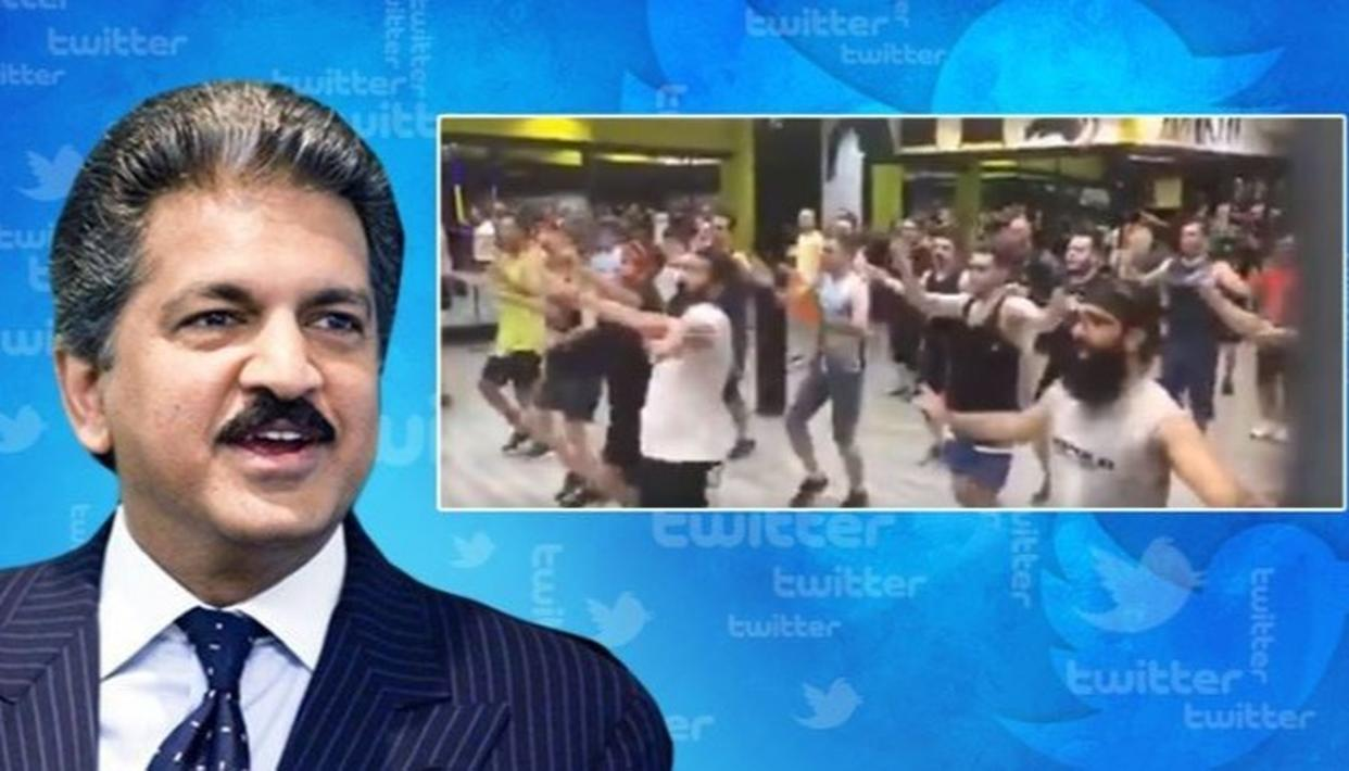 ANAND MAHINDRA SUPER-IMPRESSED AFTER IRAN GYM-GOERS BREAK INTO IMPROMPTU BHANGRA ON A TAMIL SONG, WATCH VIDEO