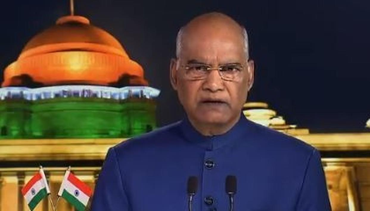 INDEPENDENCE DAY: PRESIDENT RAM NATH KOVIND CONGRATULATES PEOPLE FOR SUCCESSFUL ELECTION, CALLS FOR OVERALL UNITY
