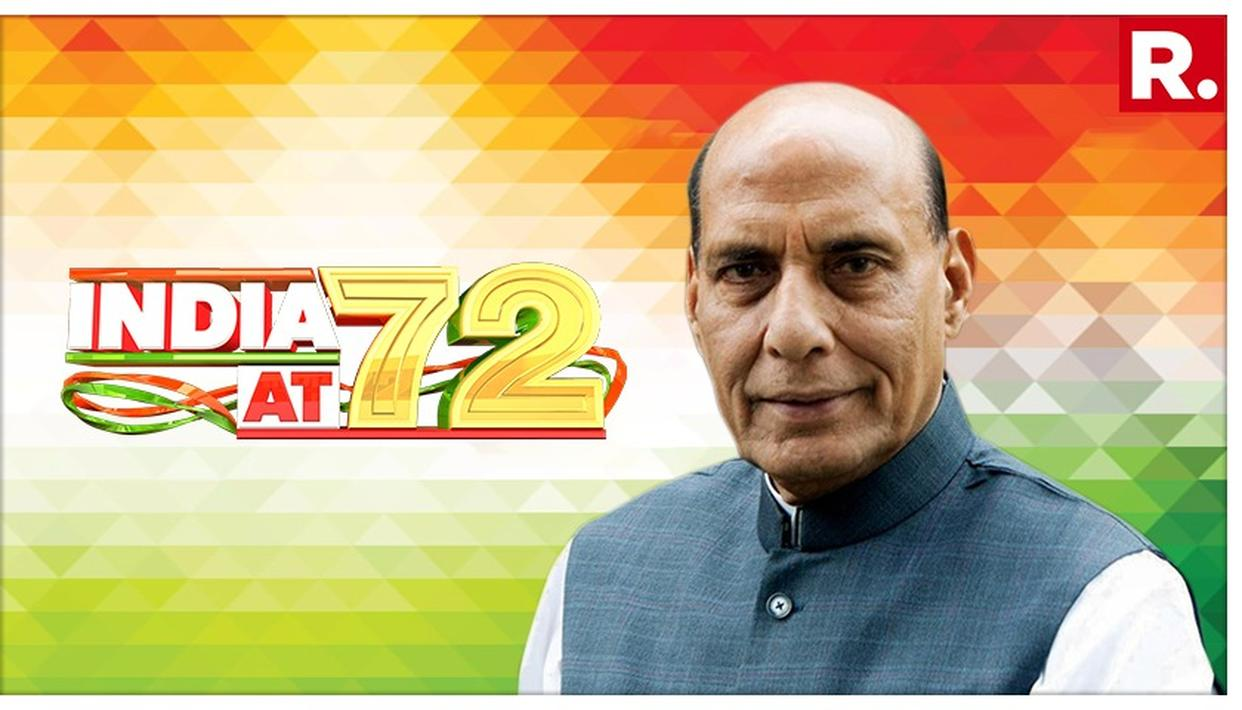 INDEPENDENCE DAY: DEFENCE MINISTER RAJNATH SINGH WISHES THE NATION, ASSURES ITS SAFETY AT THE HANDS OF THE INDIAN ARMY