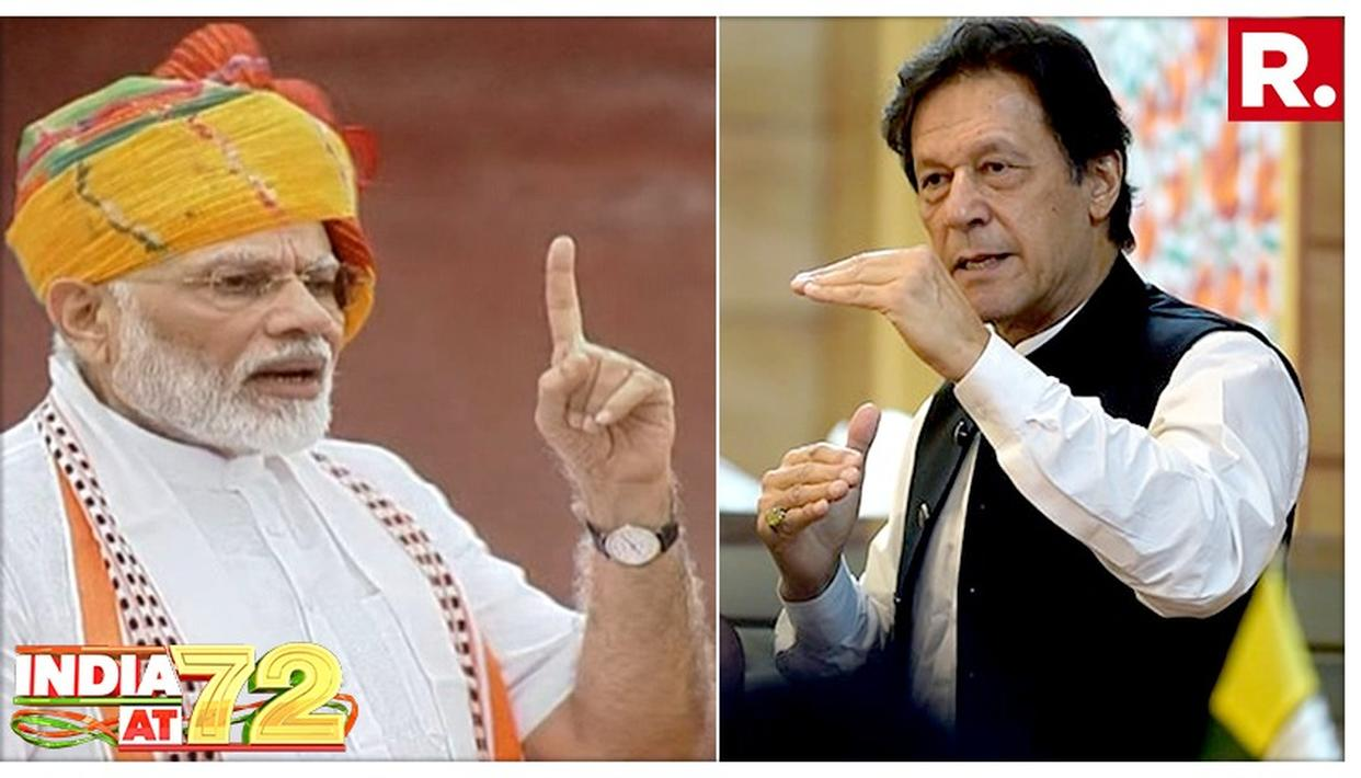 INDEPENDENCE DAY: IMRAN KHAN'S REPEATED ATTEMPTS TO BAIT INDIA FIND NO TAKERS, PM MODI OBLITERATES PAKISTAN WITHOUT A SINGLE MENTION